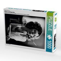 Ein Motiv aus dem Kalender Nylons und Zigaretten 1000 Teile Puzzle hoch von CALVENDO