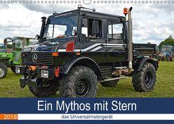 Ein Mythos mit Stern – das Universalmotorgerät (Wandkalender 2018 DIN A3 quer) von Geiger,  Günther