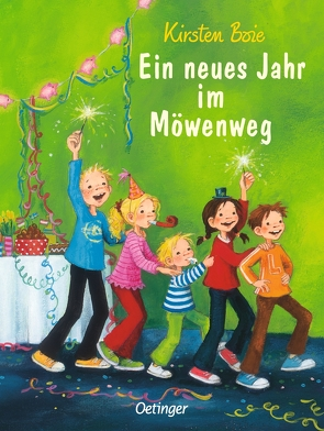 Ein neues Jahr im Möwenweg von Boie,  Kirsten, Engelking,  Katrin