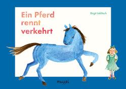 Ein Pferd rennt verkehrt von Jaklitsch,  Birgit