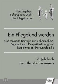 Ein Pflegekind werden. 7. Jahrbuch des Pflegekinderwesens von Stiftung Zum Wohl des Pflegekindes