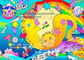 Ein phantastischer Katzenkalender: Magisches Katzenland von Thümmler,  Silke