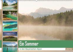 Ein Sommer in den Bayerischen Alpen (Wandkalender 2019 DIN A2 quer) von Wasilewski,  Martin