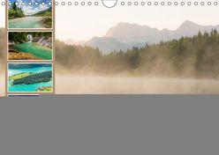 Ein Sommer in den Bayerischen Alpen (Wandkalender 2019 DIN A4 quer) von Wasilewski,  Martin
