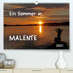 Ein Sommer in Malente (Premium, hochwertiger DIN A2 Wandkalender 2021, Kunstdruck in Hochglanz) von Felix,  Holger