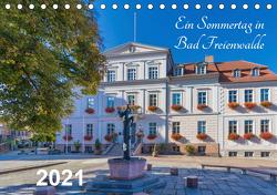Ein Sommertag in Bad Freienwalde (Tischkalender 2021 DIN A5 quer) von Fotografie,  ReDi