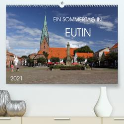 Ein Sommertag in Eutin (Premium, hochwertiger DIN A2 Wandkalender 2021, Kunstdruck in Hochglanz) von Felix,  Holger