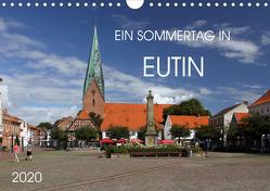 Ein Sommertag in Eutin (Wandkalender 2020 DIN A4 quer) von Felix,  Holger