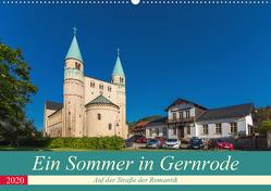 Ein Sommertag in Gernrode (Wandkalender 2020 DIN A2 quer) von Schubert,  Renè