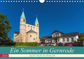 Ein Sommertag in Gernrode (Wandkalender 2020 DIN A4 quer) von Schubert,  Renè