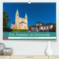 Ein Sommertag in Gernrode (Premium, hochwertiger DIN A2 Wandkalender 2020, Kunstdruck in Hochglanz) von Schubert,  Renè