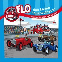 Ein spannendes Autorennen – Flo, das kleine Feuerwehrauto von Mörken,  Christian