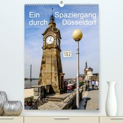 Ein Spaziergang durch Düsseldorf (Premium, hochwertiger DIN A2 Wandkalender 2020, Kunstdruck in Hochglanz) von Sock,  Reinhard