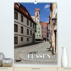 Ein Spaziergang durch Füssen (Premium, hochwertiger DIN A2 Wandkalender 2020, Kunstdruck in Hochglanz) von Bartek,  Alexander
