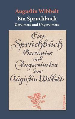 Ein Spruchbuch von Schepper,  Rainer, Wibbelt,  Augustin