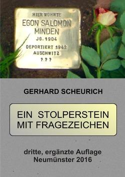 Ein Stolperstein mit Fragezeichen von Scheurich,  Gerhard