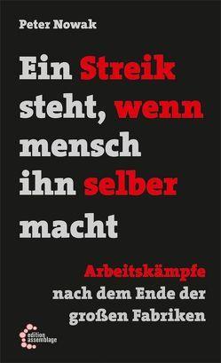 Ein Streik steht, wenn mensch ihn selber macht von Hajek,  Willi, Komrowski,  Andreas, Nowak,  Peter, Schönafinger,  Barabara