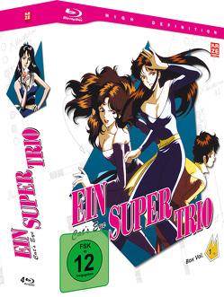 Ein Supertrio – Cat's Eye – Blu-ray-Box 1 (4 Blu-rays) von Kodama,  Kenji, Takeuchi,  Yoshio