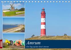 Ein Tag auf der Insel Amrum (Tischkalender 2020 DIN A5 quer) von Schulz,  Olaf