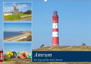Ein Tag auf der Insel Amrum (Wandkalender 2020 DIN A2 quer) von Schulz,  Olaf
