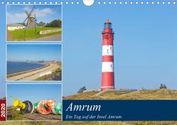 Ein Tag auf der Insel Amrum (Wandkalender 2020 DIN A4 quer) von Schulz,  Olaf