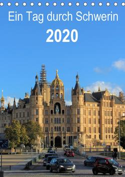 Ein Tag durch Schwerin (Tischkalender 2020 DIN A5 hoch) von TakeTheShot