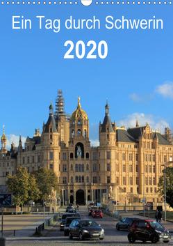 Ein Tag durch Schwerin (Wandkalender 2020 DIN A3 hoch) von TakeTheShot