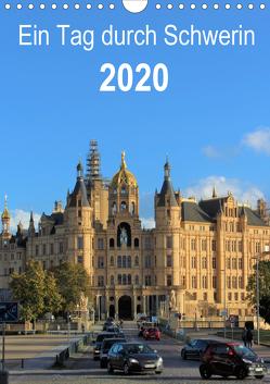 Ein Tag durch Schwerin (Wandkalender 2020 DIN A4 hoch) von TakeTheShot