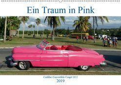 Ein Traum in Pink – Cadillac Convertible Coupé 1952 (Wandkalender 2019 DIN A2 quer) von von Loewis of Menar,  Henning