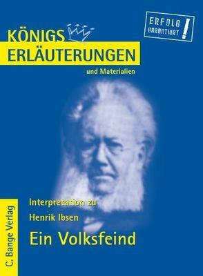 Ein Volksfeind von Henrik Ibsen. von Bernhardt,  Rüdiger, Ibsen,  Henrik
