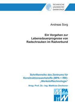 Ein Vorgehen zur Lebensdauerprognose von Radschrauben im Radverbund von Sorg,  Andreas