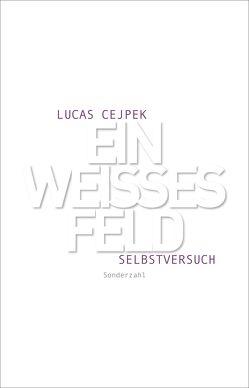 Ein weißes Feld von Cejpek,  Lucas