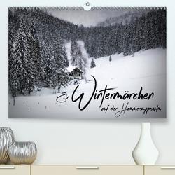 Ein Wintermärchen auf der Hemmersuppenalm (Premium, hochwertiger DIN A2 Wandkalender 2021, Kunstdruck in Hochglanz) von Viola,  Melanie