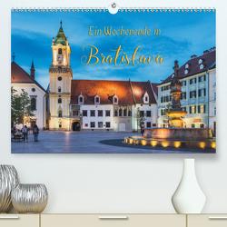 Ein Wochenende in Bratislava (Premium, hochwertiger DIN A2 Wandkalender 2020, Kunstdruck in Hochglanz) von Kirsch,  Gunter