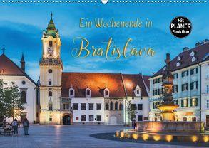 Ein Wochenende in Bratislava (Wandkalender 2018 DIN A2 quer) von Kirsch,  Gunter