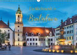 Ein Wochenende in Bratislava (Wandkalender 2018 DIN A3 quer) von Kirsch,  Gunter