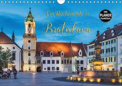 Ein Wochenende in Bratislava (Wandkalender 2018 DIN A4 quer) von Kirsch,  Gunter