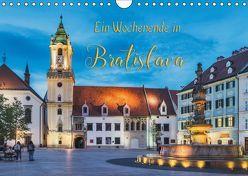 Ein Wochenende in Bratislava (Wandkalender 2019 DIN A4 quer) von Kirsch,  Gunter