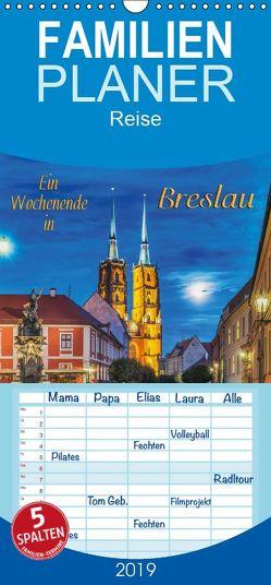 Ein Wochenende in Breslau – Familienplaner hoch (Wandkalender 2019 , 21 cm x 45 cm, hoch) von Kirsch,  Gunter