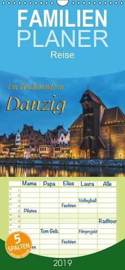 Ein Wochenende in Danzig – Familienplaner hoch (Wandkalender 2019 , 21 cm x 45 cm, hoch) von Kirsch,  Gunter
