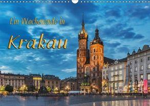Ein Wochenende in Krakau (Wandkalender 2018 DIN A3 quer) von Kirsch,  Gunter