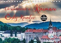 Ein Wochenende in Krumau (Tischkalender 2018 DIN A5 quer) von Kirsch,  Gunter