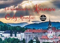 Ein Wochenende in Krumau (Wandkalender 2018 DIN A2 quer) von Kirsch,  Gunter