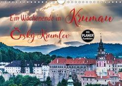 Ein Wochenende in Krumau (Wandkalender 2018 DIN A4 quer) von Kirsch,  Gunter