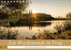 Ein Wochenende in Prag (Tischkalender 2019 DIN A5 quer) von Steiner und Matthias Konrad,  Carmen
