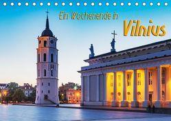 Ein Wochenende in Vilnius (Tischkalender 2019 DIN A5 quer) von Kirsch,  Gunter