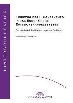 Einbezug des Flugverkehrs in das europäische Emissionshandelssystem von Harmeling,  Sven, Kubek,  Doreen