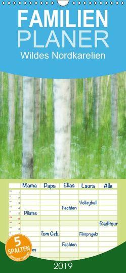 Einblick-Natur: Wildes Norkarelien – Familienplaner hoch (Wandkalender 2019 , 21 cm x 45 cm, hoch) von Wünsch,  Alexandra