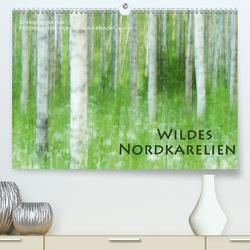Einblick-Natur: Wildes Norkarelien (Premium, hochwertiger DIN A2 Wandkalender 2021, Kunstdruck in Hochglanz) von Wünsch,  Alexandra