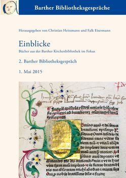 Einblicke von Eisermann,  Falk, Heitzmann,  Christian